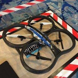 Drone tijdens het programma Do's en drones