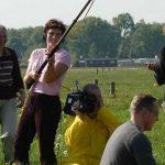Filmploeg actief tijdens de Filmfabriek