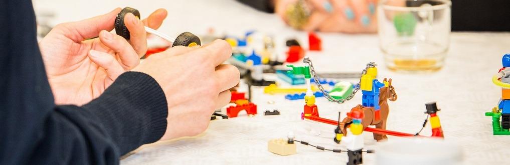 Aan het werk met Lego Serious Play
