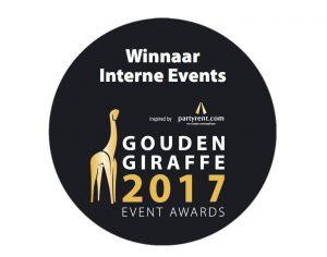 Winnaar Gouden Giraffe 2017