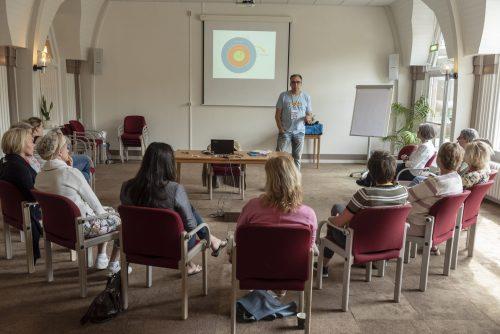 Remko geeft een workshop