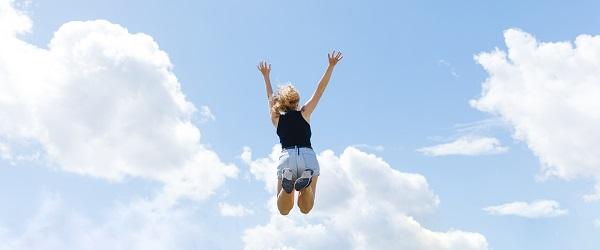 Gat in de lucht springen
